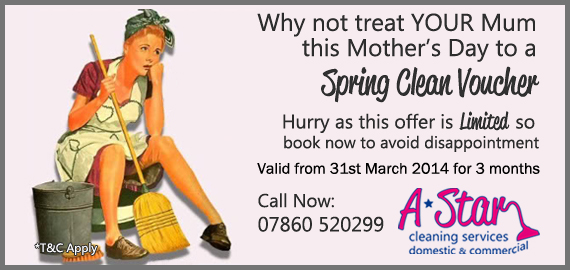 Mother's Day Spring Clean Voucher