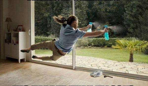 How Not To Clean Windows – Essential Tips with Pics!